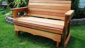 Plans For Outdoor Furniture by Adirondack Glider Bench Plans Furniture Cheap And Unique Home Sets