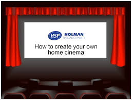 create your own home cinema blog