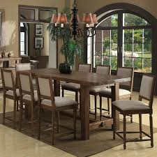 solid wood counter height dining table set alexander kat
