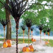 Lighted Halloween Trees Lighted Pathway Trees Halloween Bootsforcheaper Com