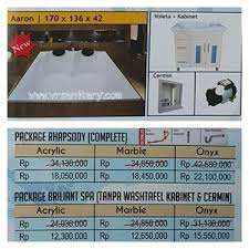 Cermin Rp sell bathtub mini pool aaron whirlpool package from indonesia by