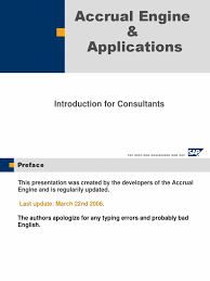 fi accrual engine by sap accrual debits and credits