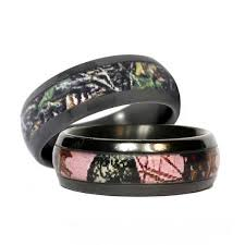his and camo wedding rings 17 best ideas about camo wedding rings on country