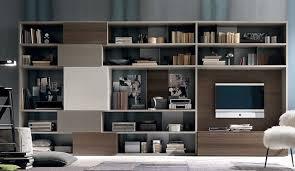 libreria tv libreria con pannello tv mod atlante di tomasella