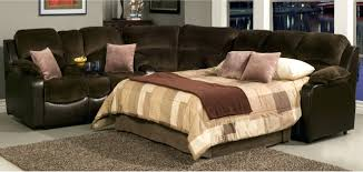 Bed With Pull Out Bed Small Sectional Storage Chaise Sofa Pull Out Bed Sleeper Couch