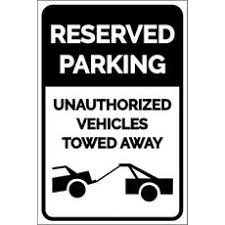 reserved parking signs dashsigns com