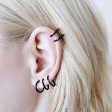 small hoop earrings for cartilage small black hoop earrings hoops earrings cartilage piercing