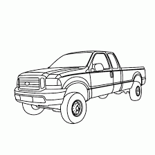 special pick truck coloring pages gallery 2173 unknown