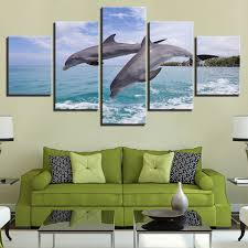 dolphin home decor online shop canvas pictures home decor wall art hd prints animal
