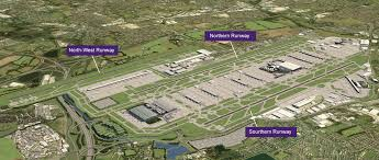 Map With Labels Maps And Technical Information Heathrow Expansion