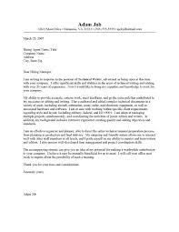 technical writer cover letter no experience 2796