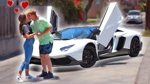 lamborghini logan paul my wife got me my dream car insane surprise youtube