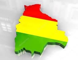 Quechua Flag 3d Flag Map Of Bolivia U2014 Stock Photo Fambros 3437495