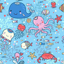 octopus wrapping paper 2 245 seamless coral wallpaper stock vector illustration and