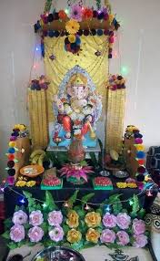 Home Made Decoration 186 Best Ganpati Decoration Ideas Images On Pinterest Ganesh
