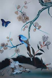 Wallpaper With Birds Chinoiserie Wallpaper With Birds Chinoiserie Compositions