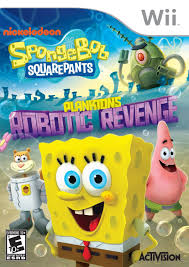 spongebob squarepants plankton u0027s robotic revenge dolphin
