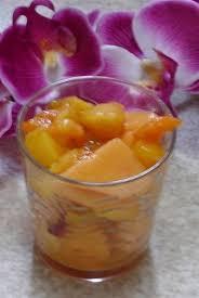 eau de fleur d oranger cuisine recette de salade de fruits à l eau de fleur d oranger la