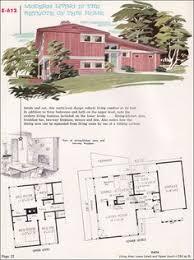 split level homes floor plans 1955 national plan service no e 605 split level angled kitchen