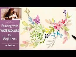 best 25 watercolor flowers tutorial ideas on pinterest simple