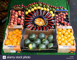 fruit boxes dh fruit and vegetables shop glasgow colourful and artistic