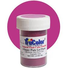 pink gel paste natural food color 9 grams