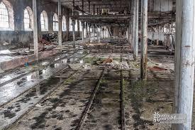 Dstockage Papeterie Hangar De Stockage Des Berlines Sur Rails De La Papeterie Darblay