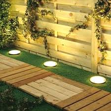 Outdoor Solar Lights For Fence Backyard Fence Lighting Backyard Fence Lighting Ideas Outdoor