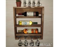 horizontal wine rack etsy