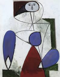 What Is An Armchair Pablo Picasso Woman With A Flower 1932