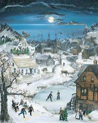 will moses christmas cards christmas cove by will moses folk artist will moses