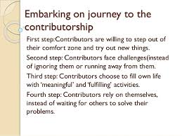 Out Of Comfort Zone Activities Ppt Of Cpd Embarking The Journey Of Contributorship