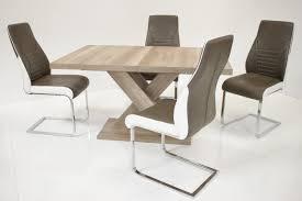 Farben F Esszimmer Tischgruppe Celia Andre In Zwei Farben Tisch U0026 4 Stühle Möbel