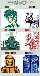 Colour Scheme Doctor Who Color Scheme By Musicalartfreak On Deviantart