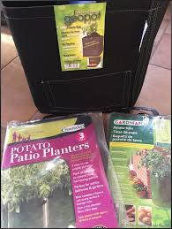 Patio Potato Planters Potatoes Part 1 Preparation And Planting Stephi Gardens