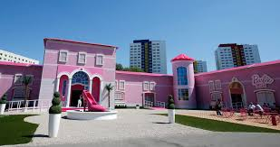 photos ridiculous sized u0027barbie dreamhouse u0027 berlin
