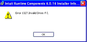 error 1327 invalid drive while installing or updating quickbooks error 1327 how to fix solved