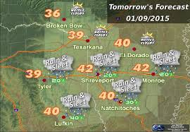 Weather Map Louisiana by Winter Weather Forecast For This Weekend Texarkana Today