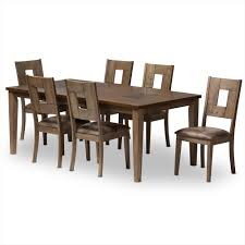 Modern Wood Dining Room Tables 7 Piece Dining Sets Dining Room Furniture Affordable Modern