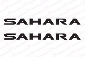 jeep wrangler sahara logo jeep wrangler sahara hood decals the pixel hut