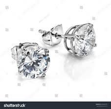 big diamond earrings diamond earrings big diamond earrings large stock photo 638464075