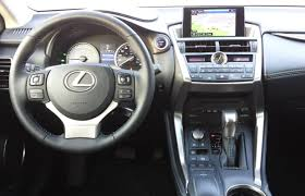 lexus crossover inside suv review 2015 lexus nx 300h driving