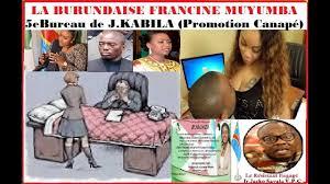 promotion canapé rdc la burundaise francine muyumba promotion canapé 5e bureau de