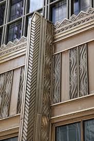 Deco Art Deco Artdeco Exterior Detail One North Lasalle Building Chicago