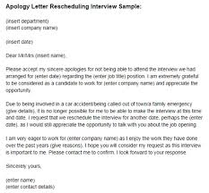 Regret Letter Unable To Join apology letter reschedule sle just letter templates