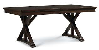 legacy classic furniture manor trestle table base