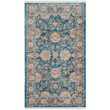 Neutral Persian Rug Safavieh Vintage Persian Turquoise Multi 3 Ft X 5 Ft Area Rug