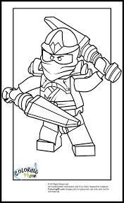 lego ninjago kai coloring pages team colors