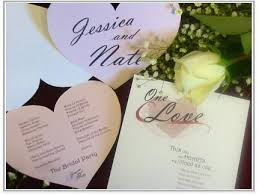 bling wedding programs for a time i was convinced that the only wedding