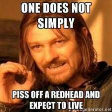 Redhead Meme - 29 things only people from upstate new york understand redheads